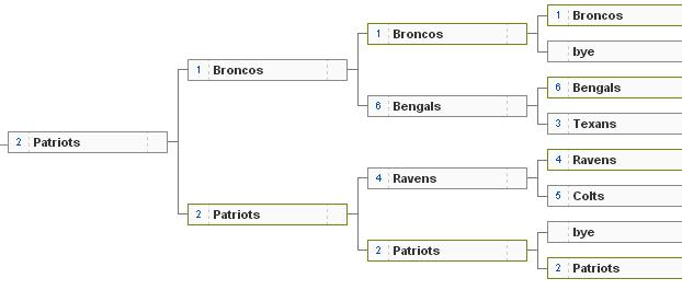 AFC playoffs 2013